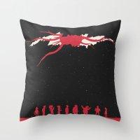 Futurama - TBWABB Throw Pillow