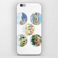 Campsite Selection iPhone & iPod Skin