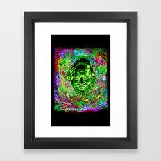Shulgin Portrait Framed Art Print