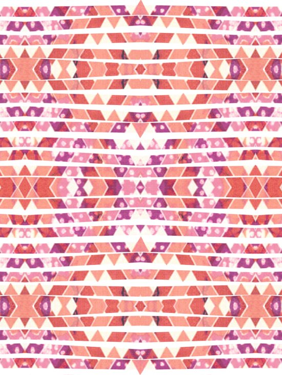 Tribal Explosion Art Print