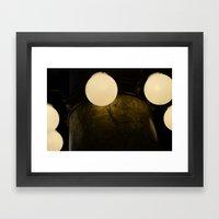 Light Marbles  Framed Art Print