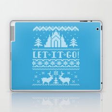 Let It Go Sweater Laptop & iPad Skin