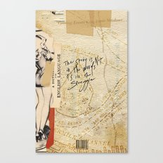 ə-ˈdik-shən Canvas Print
