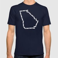 Ride Statewide - Georgia Mens Fitted Tee Navy SMALL