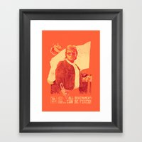 He Who Will Fix It All Framed Art Print