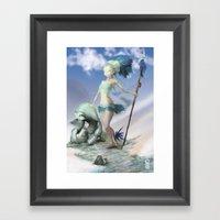 Tobias Framed Art Print