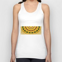 Golden Jewel With Emeral… Unisex Tank Top