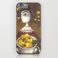 iPhone Cases featuring Portrait of an Apple Orchard by Judith Clay