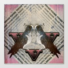 V is for Vermin  Canvas Print