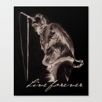 Live forever Canvas Print