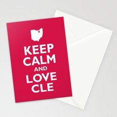 Keep Calm and Love CLE Stationery Cards