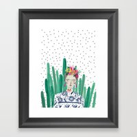 Frida Kahlo. Art, Print,… Framed Art Print