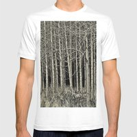 Cottonwoods Mens Fitted Tee White SMALL