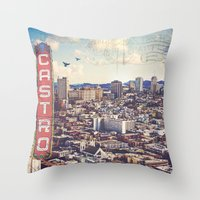 The City By The Bay Throw Pillow