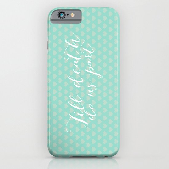 Till death do us part iPhone & iPod Case