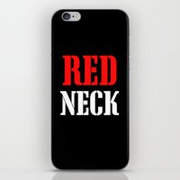 RED NECK iPhone & iPod Skin