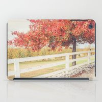 Autumn at the Orchard iPad Case