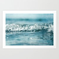 you are the ocean Art Print