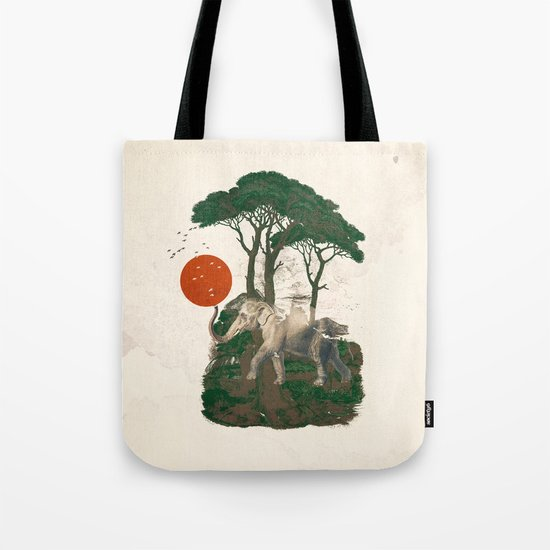 Savanna Sunrise Tote Bag