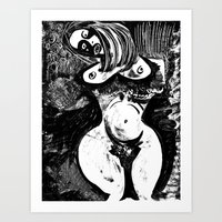Emulating Picasso Art Print