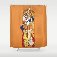 Her Codename - Sailor Venus nouveau Shower Curtain