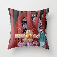Tale Of The Fiend - Shin… Throw Pillow