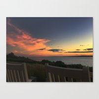 Rocking away at Castle Hill Canvas Print