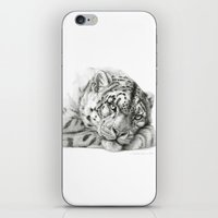 Pensive Snow Leopard G20… iPhone & iPod Skin
