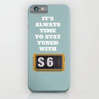 iPhone & iPod Case featuring S6 Tee Tuned by radiozimbra