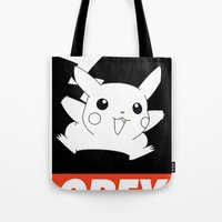 OBEY Picachu Tote Bag