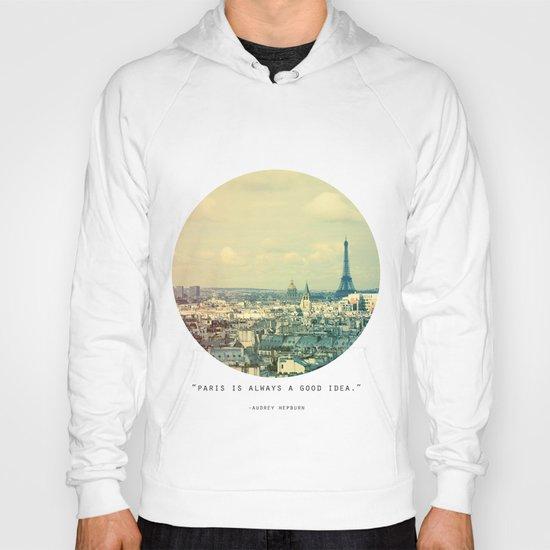 Pale Paris Hoody