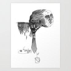 GROWIN' UP Art Print