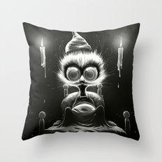 Hu! Throw Pillow