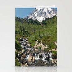 Mountain Rocky Streams Stationery Cards