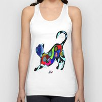 PLAYFUL WHISKERS Unisex Tank Top