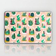 Terrariums - Cute little planters for succulents in repeat pattern by Andrea Lauren Laptop & iPad Skin