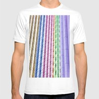 Urban  Mens Fitted Tee White SMALL
