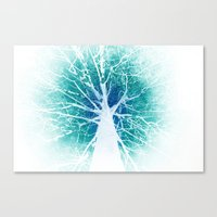 The Tree Of Life (invers… Canvas Print