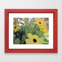 flowers for the masses Framed Art Print