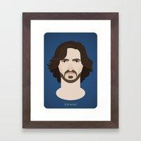 Sir Gwaine Framed Art Print