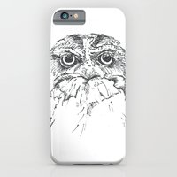 iPhone & iPod Case featuring Grumpy Feathers by Romina M.