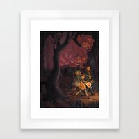 The Middle of the Night Framed Art Print