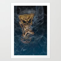 The Stuff Nightmares Are… Art Print