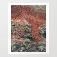 Red Hill Art Print