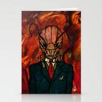 Mr. Kidface (Bug) Stationery Cards