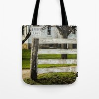 Brown Eggs for Sale Tote Bag