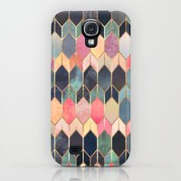 Samsung Galaxy S4 Case featuring Stained Glass 3 by Elisabeth Fredriksson