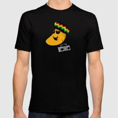 Jamaican Mango Mens Fitted Tee Black SMALL