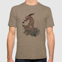Nom Nommers Mens Fitted Tee Tri-Coffee SMALL