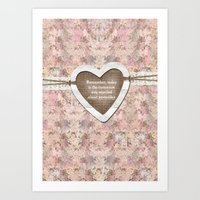 Homespun Art Print